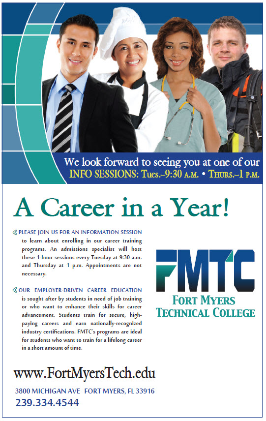 FMTC Information Sessions flyer