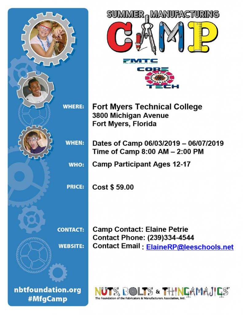 Summer manufacturing Camp